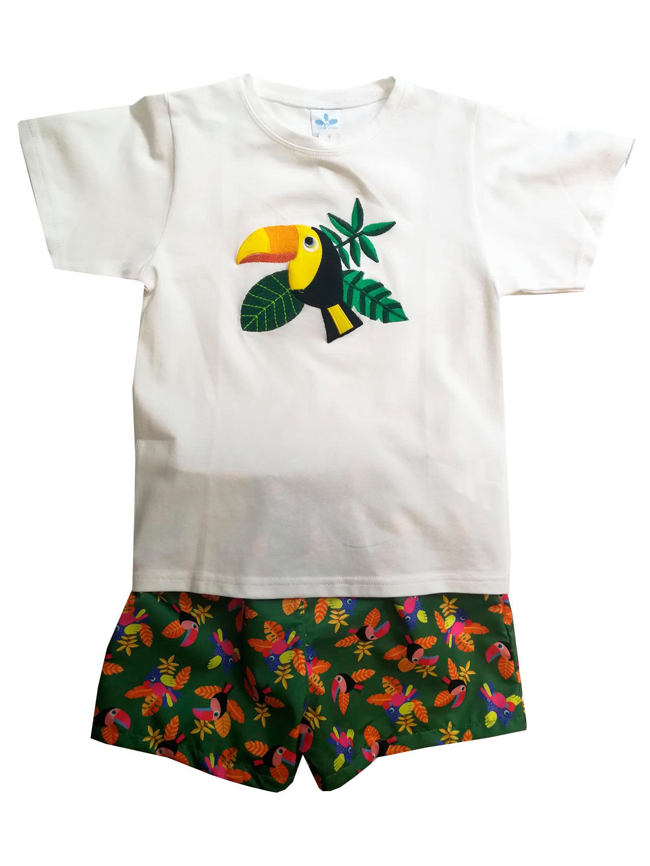 Tucán Bañador Tucán Conjunto Camiseta Conjunto Conjunto Bañador Bañador Y Camiseta Y PkZiuX